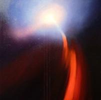 """""""Matariki - Into the Light"""" oil on canvas 600x600mm US$1,500"""