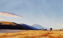 """Big Skies"" - Wairau Valley, oil on canvas, 50x70cm, US$3,199"