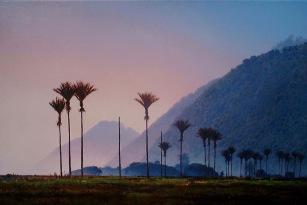 """""""After the Rain"""" - Karamea, oil on canvas, 40x60cm, SOLD"""