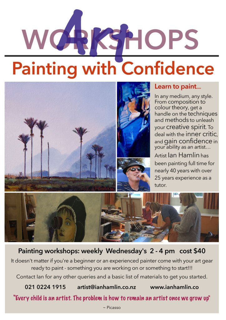 Workshop Flyer: Gordon Harris Wellington