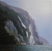 Midnight Marauders VII, Doubtful Sound, oil on canvas 300x300